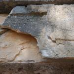 İmparator Domitianus'a ait bina yazıtı