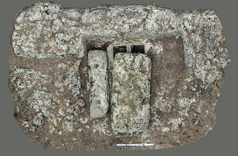 Kuzeybatı nekropolis üçlü khamasorion (3KB.94, 3KB.95, 3KB.96)