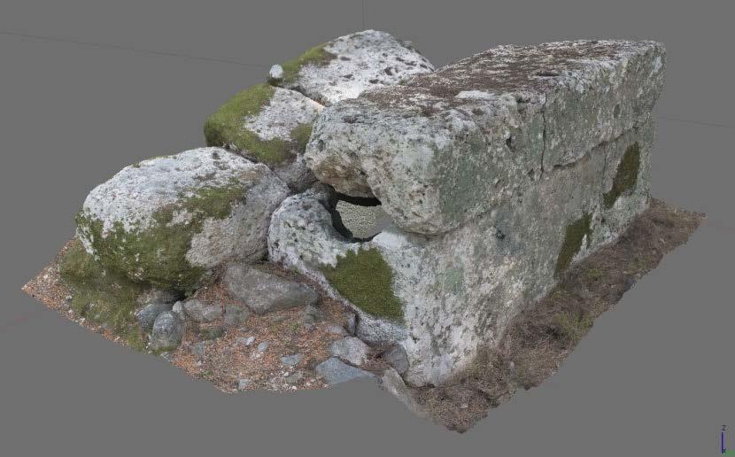 Kuzeybatı nekropolis düz damlı lahit (3KB.56)