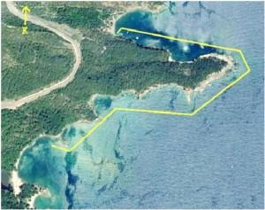 Alacasu Mevkii - Nekropolis alanı kıyı taraması