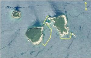 Üç Adalar dalışı