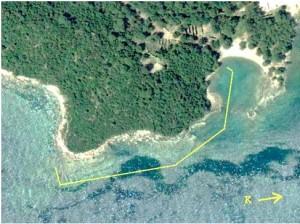 Merkezi Liman - Güney Liman arası yüzeyden kıyı taraması