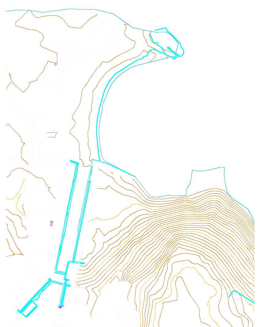 Kuzey Liman'ın yeni ölçüm hattı (yeşil renk)
