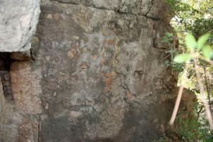 Hellenistik Kule, sıva örneği