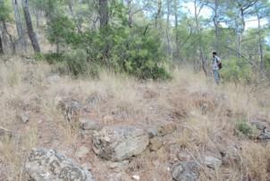 İnciryalısı koyu ile Rixos Otel arazisi arasında tespit edilen çiftlik yapısı