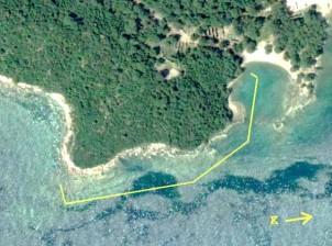 Merkezi Liman-Güney Liman arasındaki kıyı taraması