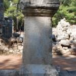 Olympos'lu Philokrates İçin Yapılan Onurlandırma